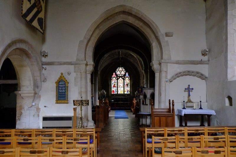 A look inside the church