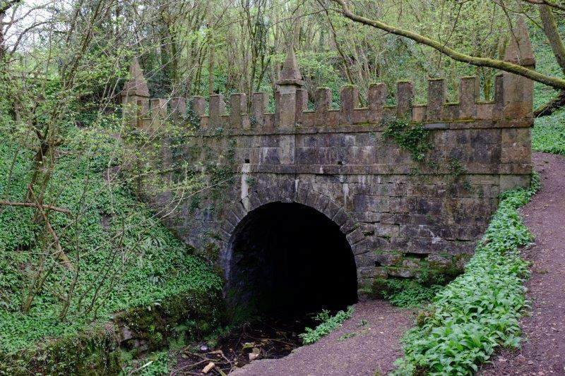 And reaching the canal at the Daneway Portal
