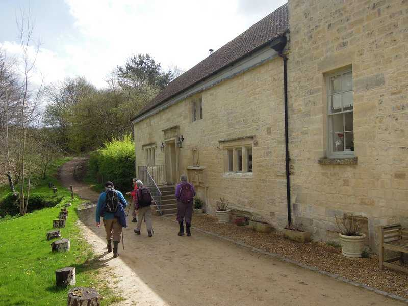 Passing Washbrook Mill
