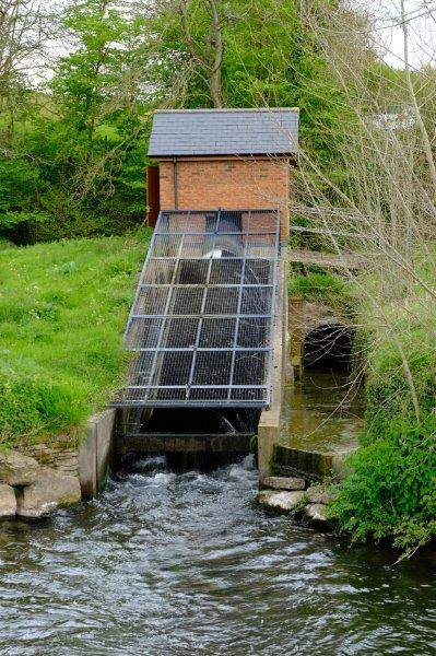 To look at a sluice