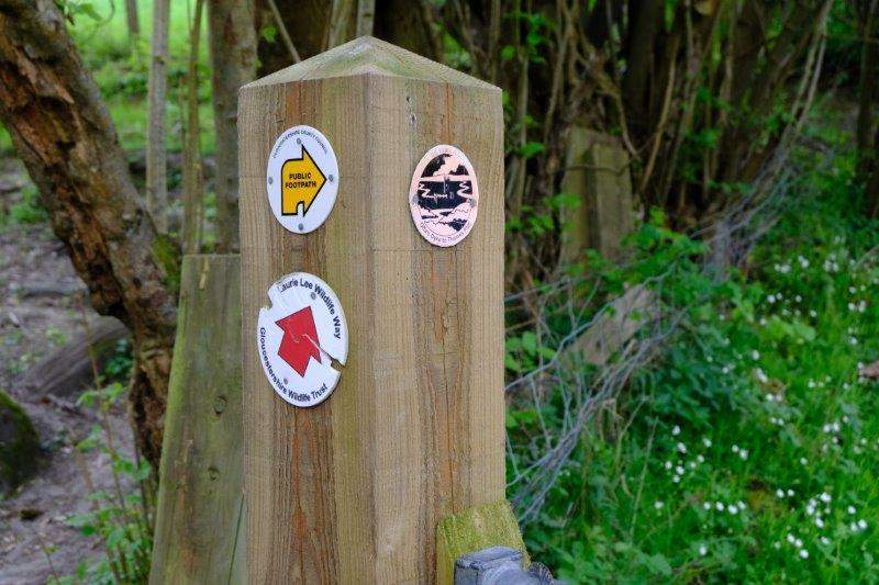 A brief stretch on the Laurie Lee Way