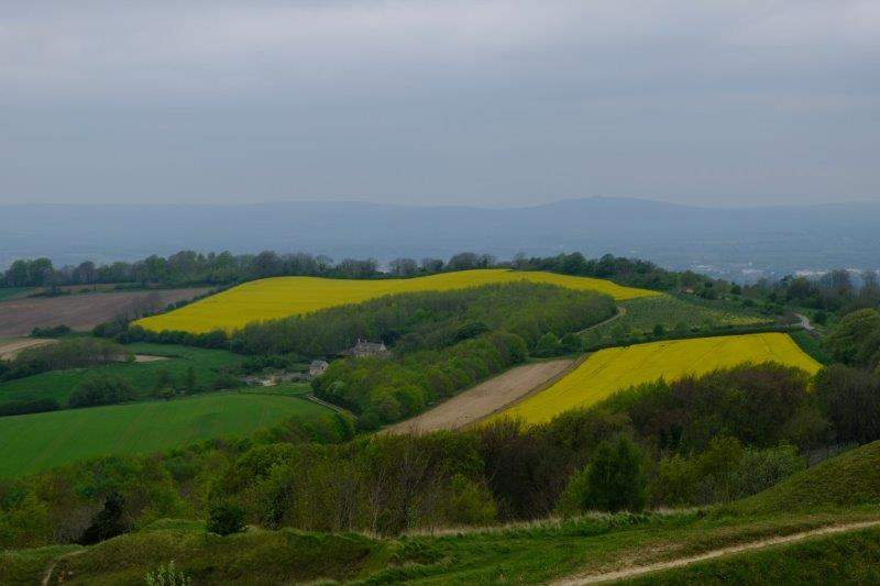 Where we have views over to May Hill