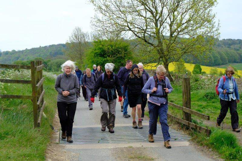 Heading for Cud Hill