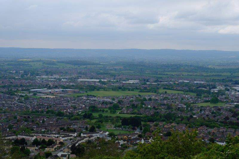 And down over Gloucester