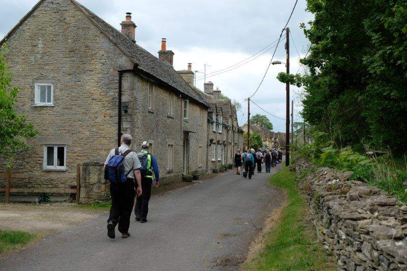 And walk through the village