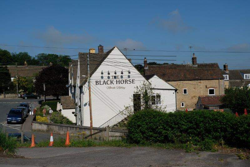 This time it's the Black Horse at North Nibley