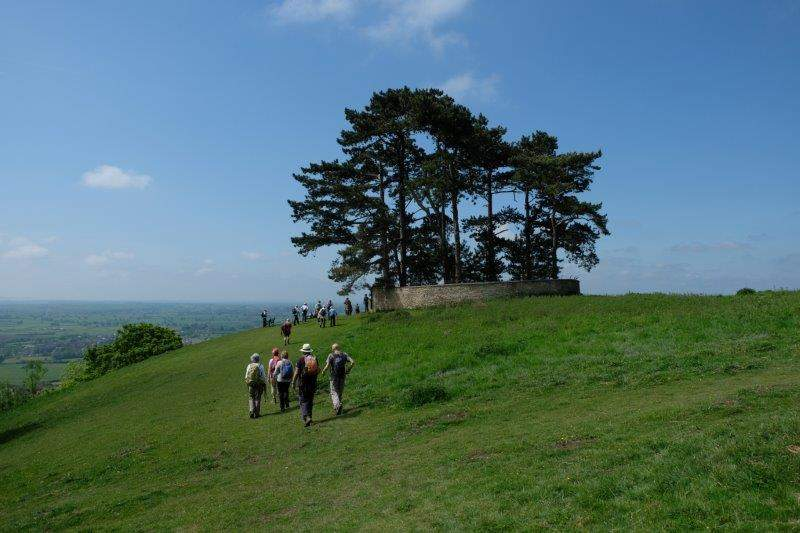 Then out onto Wotton Hill