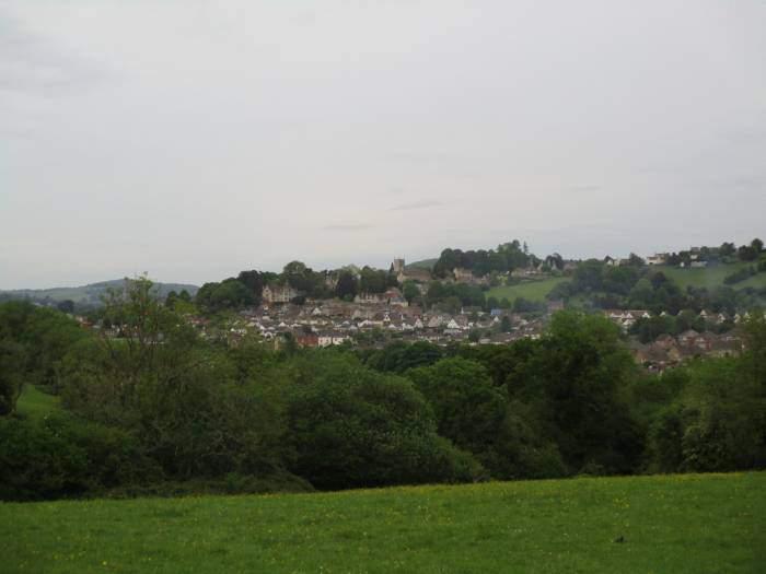 Views across to Rodborough