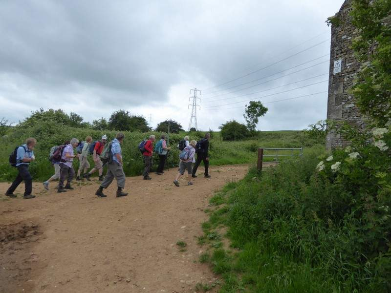Then turn off what was the Cotswold Way onto the Winchcombe Way