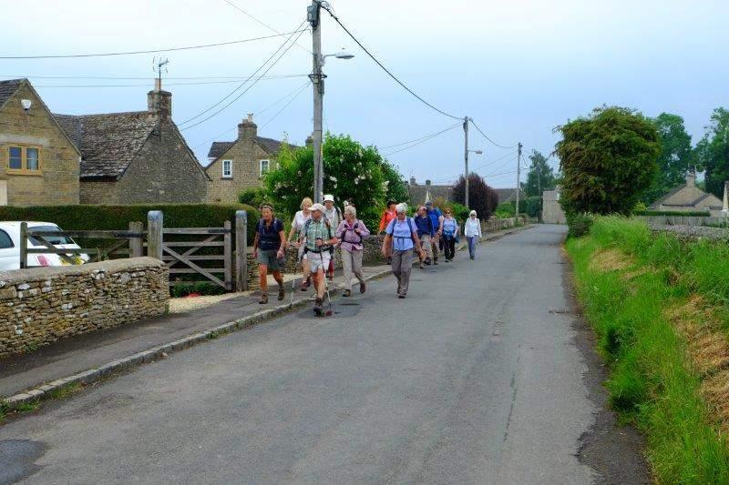 Along Longfurlong Lane out of Tetbury