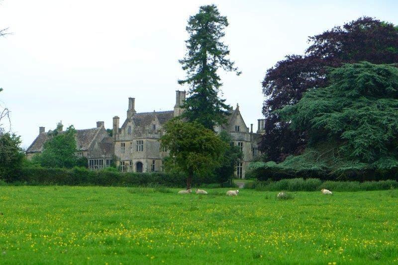 Elmstree House across the fields