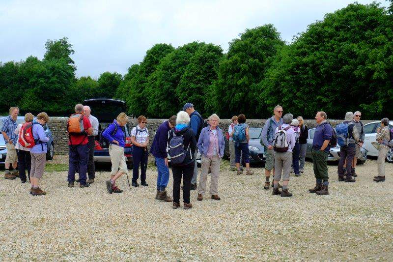 Quite a good turnout today - is it because Sherborne is hosting Springwatch?