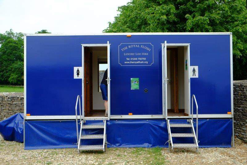 Or because of the luxury loos in the NT Car park?