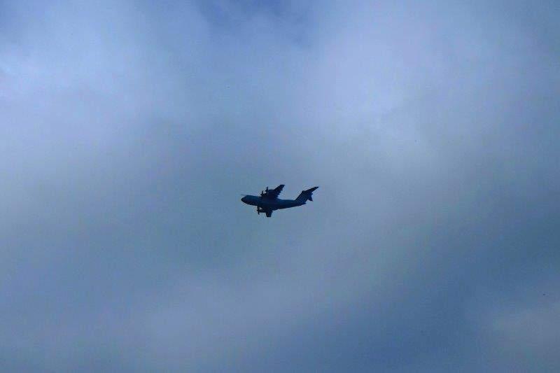 Springwatch again? Or an RAF reconnaissance