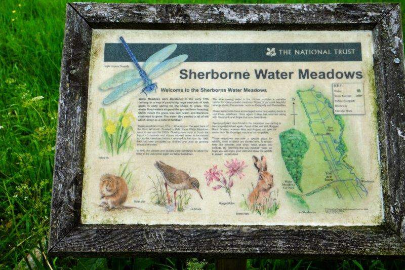 A reminder that we are approaching Sherborne Water Meadows