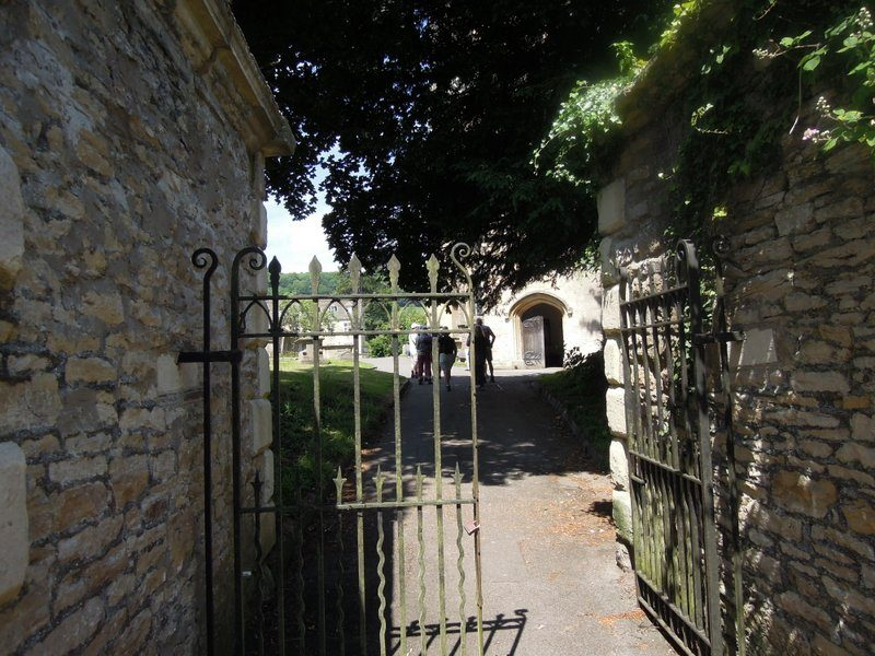 Up to the parish church