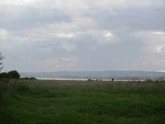 The River Severn in the distance