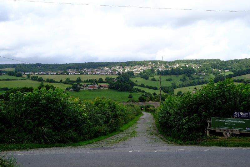 View over to Whiteshill