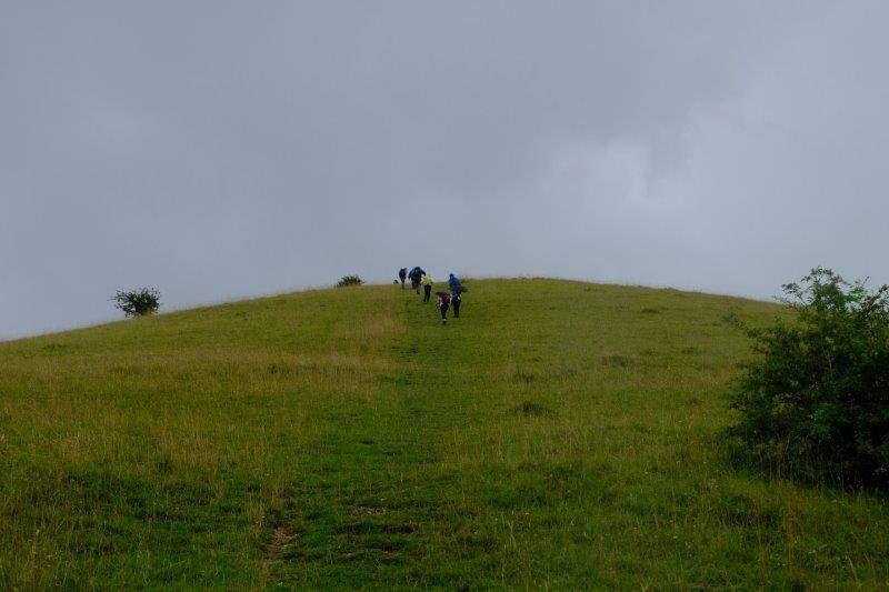Climbing up Swifts Hill