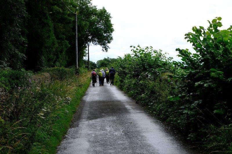 Walking towards Round Elm