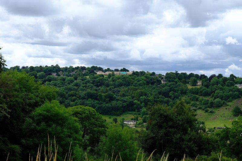 Looking over to Bownham