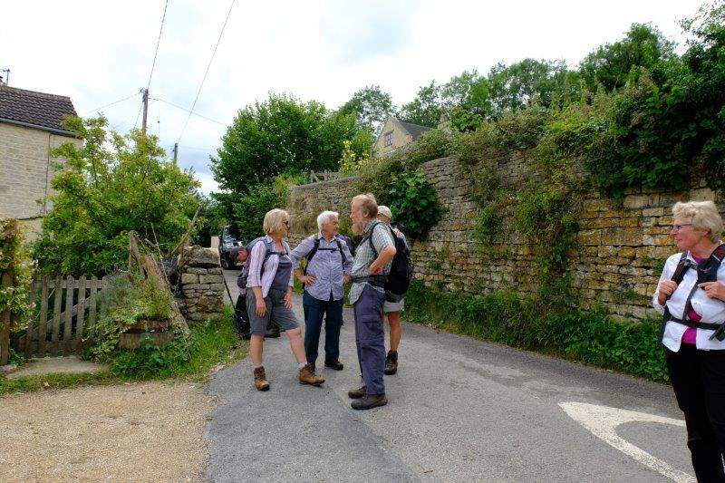 A pause when we reach Butterow Lane