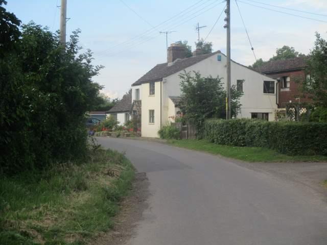 Through the pretty village of Hinton