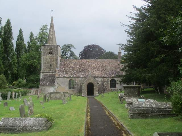 And reach the aforementioned church