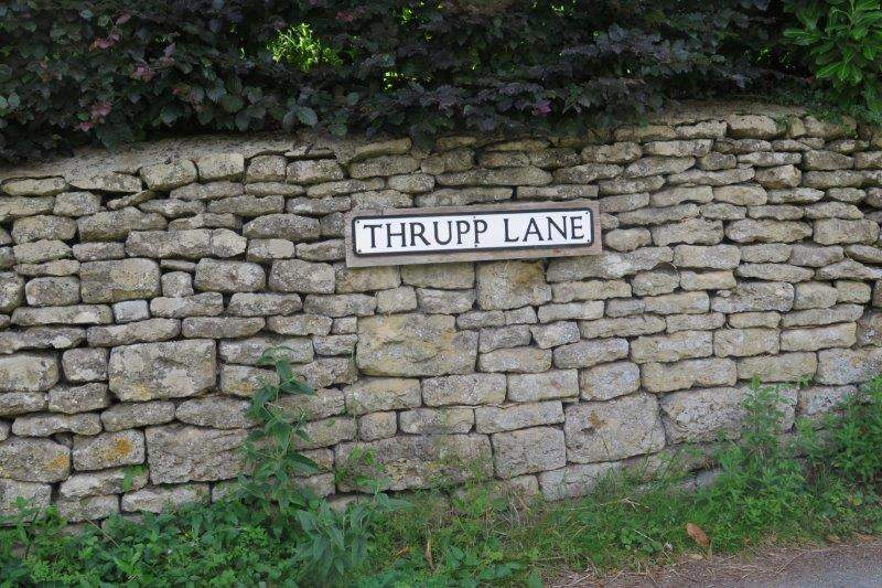 Now in Thrupp Lane