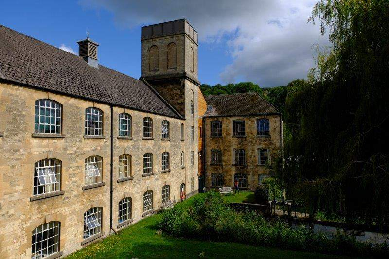 Our route takes us past the old Brimscombe Port buildings