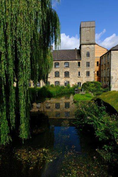 Once an old mill with a mill pond