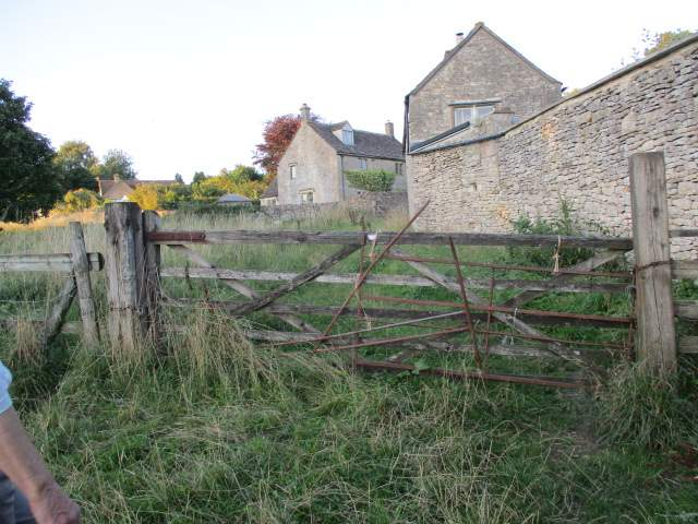 Would this win the prize for the Most Repaired Gate in Gloucestershire?