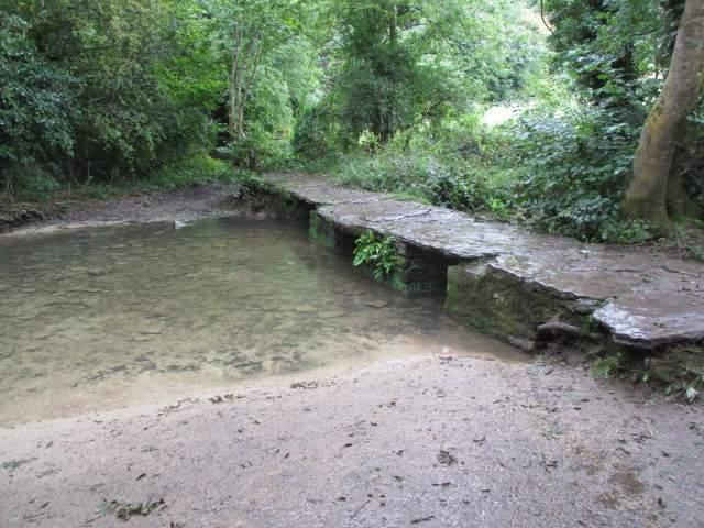 To the clapper bridge