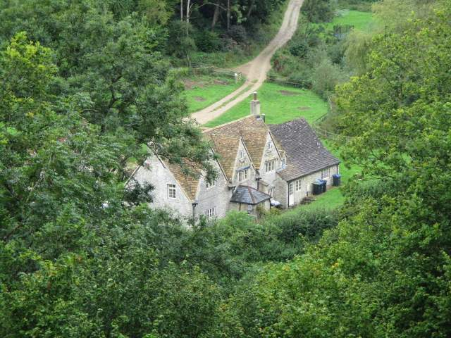 A house down in the ByBrook valley