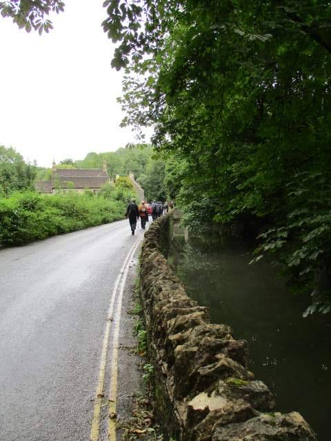 Keeping close to the brook