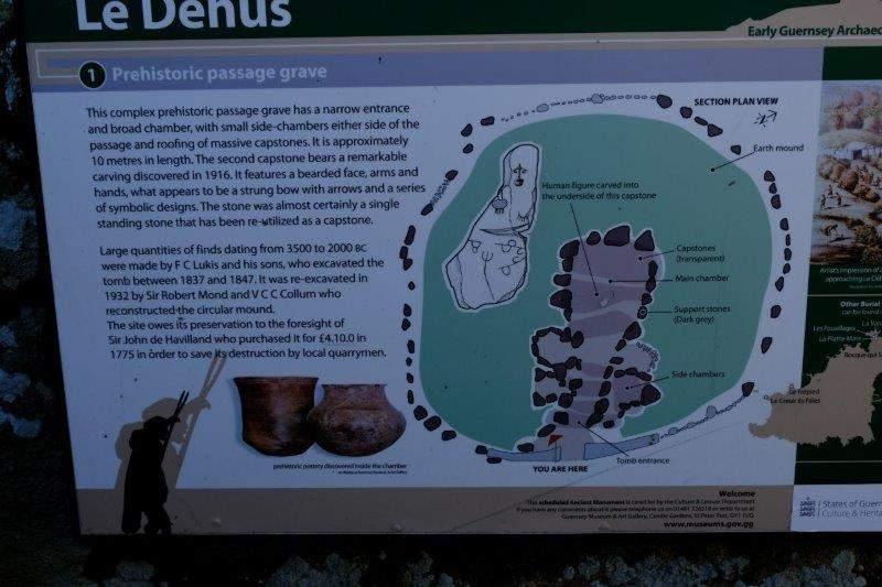 To the prehistoric passage grave