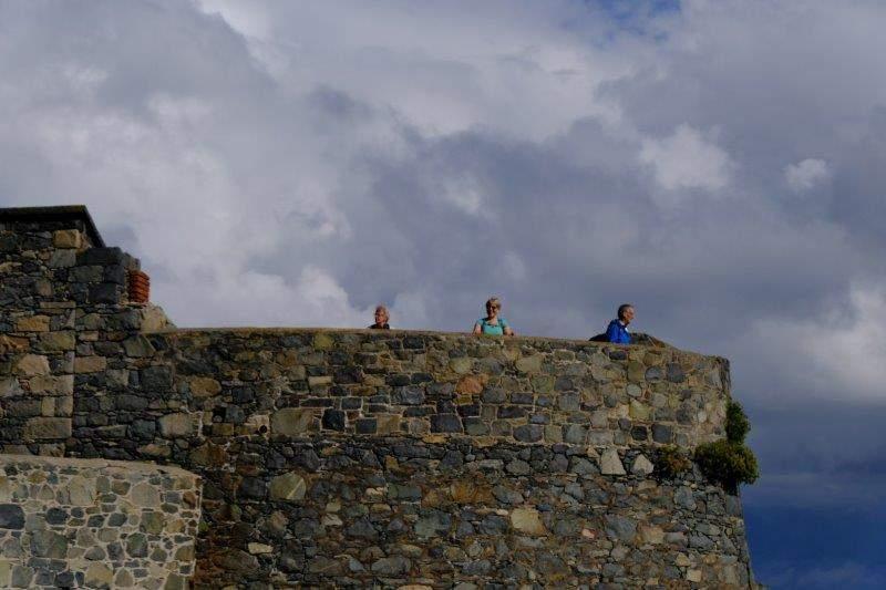 Chance to walk round the battlements