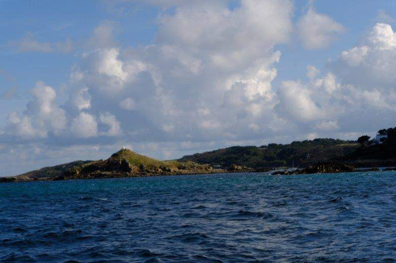 With the island of Jethou now between us and Herm