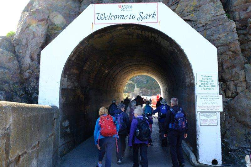 Our welcome to Sark