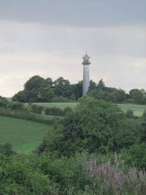 The very recognisable Somerset Monument in the distance