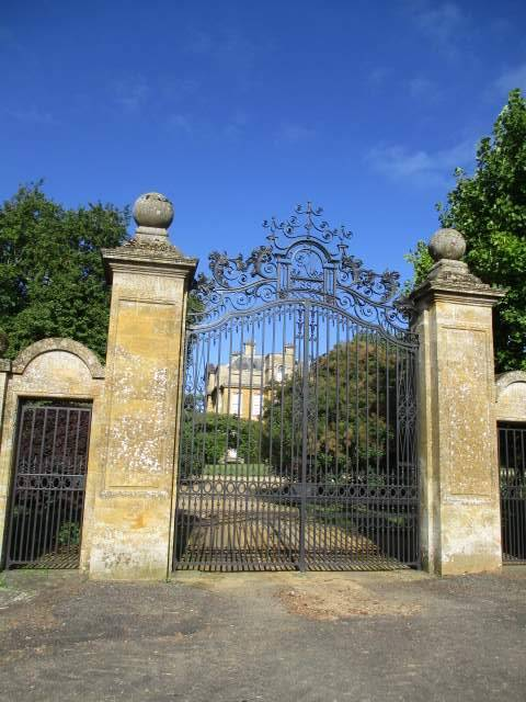 Overbury Court, part of the Overbury Estate, belonging to the Martin family of Martin's Bank - Remember the grasshopper? I do - my dad was a bank clerk at Martin's Bank