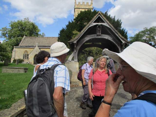 And back to Overbury where we thank Olivia for a lovely walk, lovely views and lovely weather.