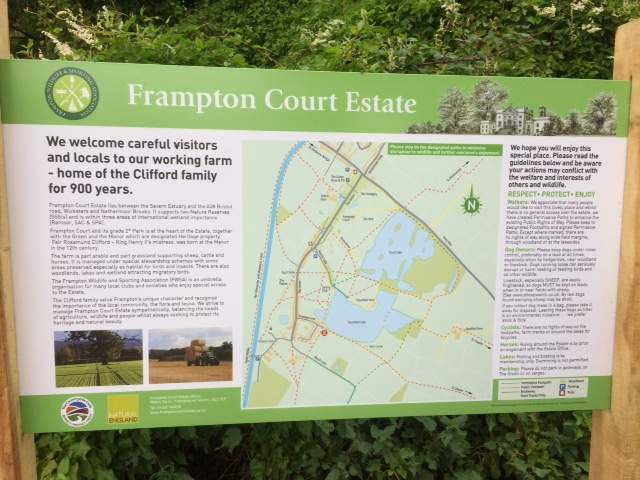 New notices explain where we are and about the Estate