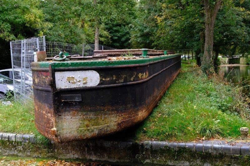 No, it's a boat