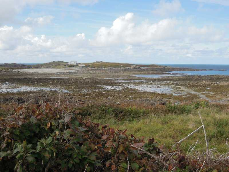 A distant view of Lihou island