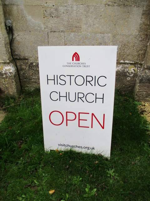 Sapperton church is now owned by the Churches Conservation Trust
