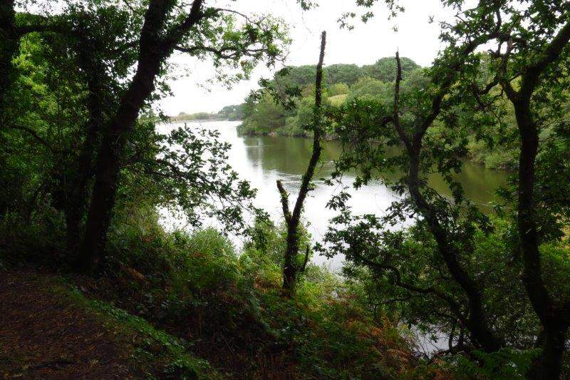 Our walk continues round St Saviour's reservoir