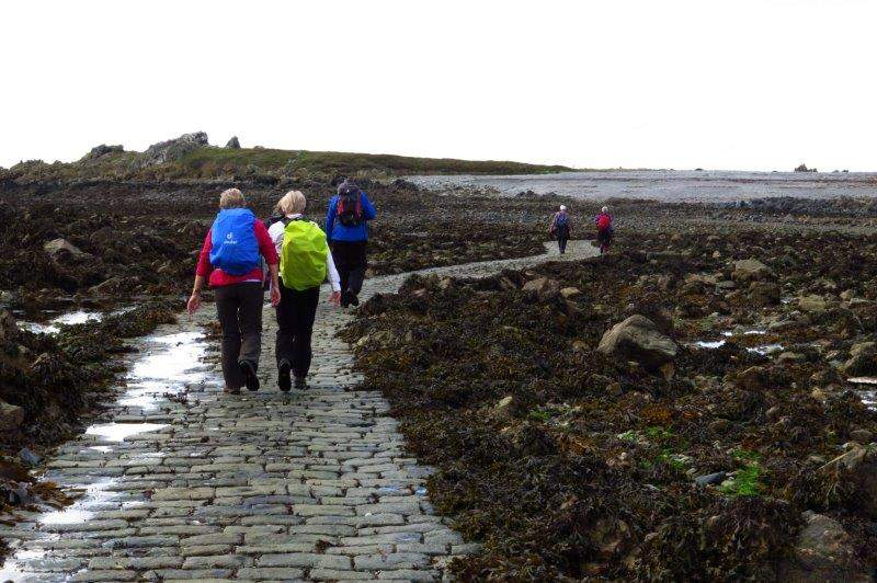 Low tide - causeway passable