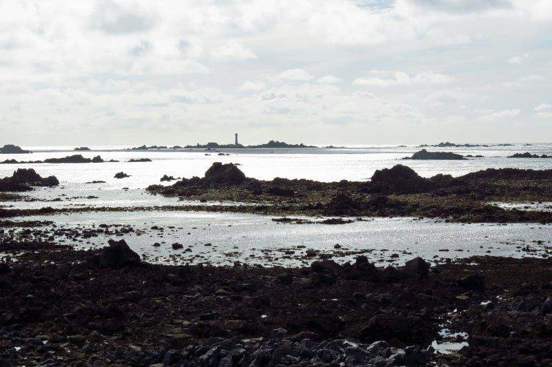 Looking across to the lighthouse