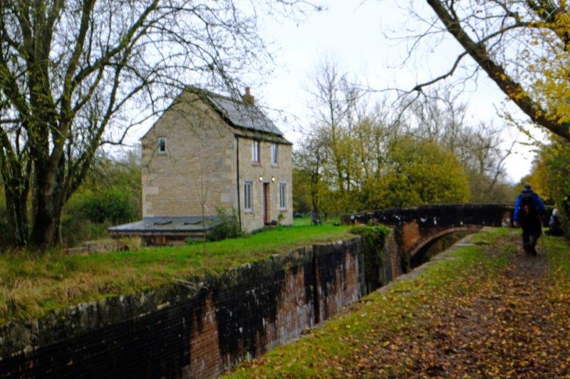 Past Wildmoorway Lower Lock back to the start